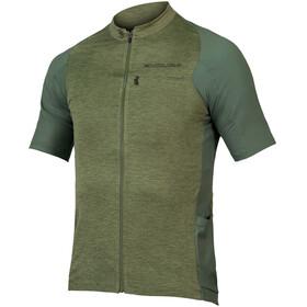 Endura GV500 Reiver SS Jersey Men, olive green